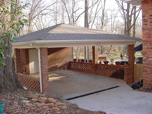 Imagine brick job no 02120101 for Brick carport